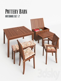 Pottery Barn Outdoor Set 2