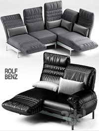 2 sofa ROLF BENZ PLURA