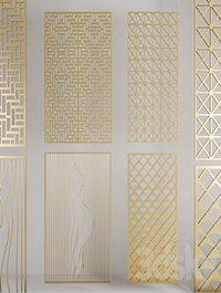 Golden panels
