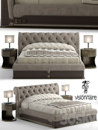 Bed visionnaire chester laurence