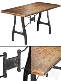 Nuevo V4 A-Leg small dining table