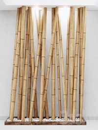 Decor of bamboo №14