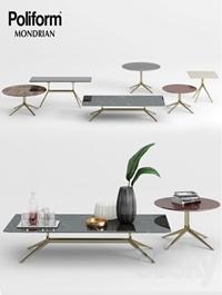 Poliform Mondrian Coffee Tables 1