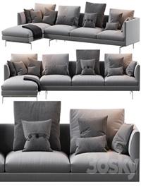 1333 Flamingo Zanotta Sofa