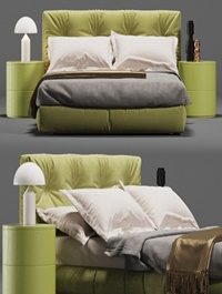 Blauson double bed