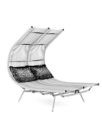 Double outdoor chair