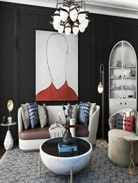 Modern Style Livingroom 453