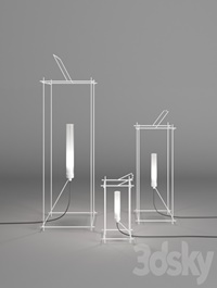 Antonangeli, Libera, Floor ,Lamp, Outdoor