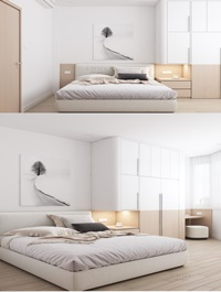 Bedroom Interior Scene By MyHuynh