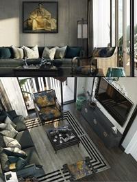 Interior Livingroom Scene Sketchup By Vietdung