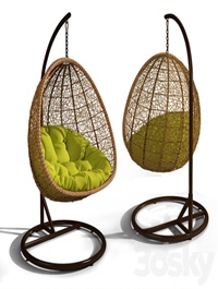 Suspended chair swing Cyprus