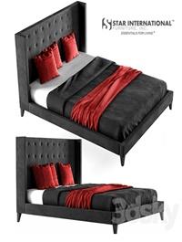 Rialto Wingback Platform Bed