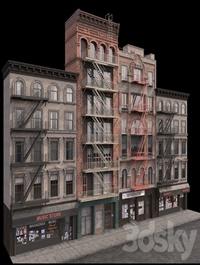 New York Brooklyn buildings fasads