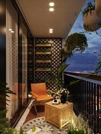 Exterior Balcony Scene By Kts NguyenViet