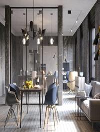 Interior Kitchen Livingroom Scene By NamNguyen
