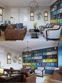 Readingroom 3 By Vang Tran