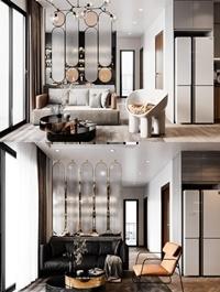 Livingroom Interior Scene By DatNguyen