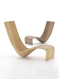 Lolo Chair by Piegatto