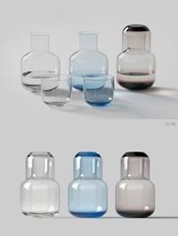 Glass bottle combination