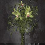 Orchid bouquet Bohemia Labyrinth Vase