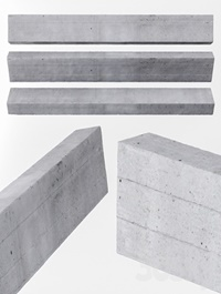 Beam concrete ceiling