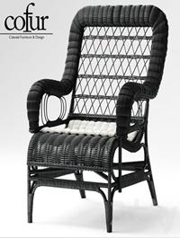 Armchair Blixen chair cofur