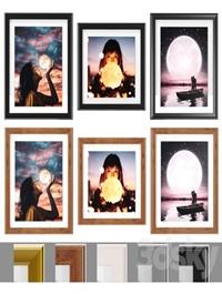 Art Frams 10- Moon girls