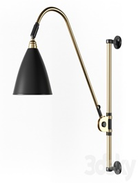 Gubi BestLite BL6 Wall Lamp Brass