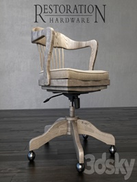 1940s Banker Chair