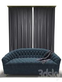 Tufted Classic Style Sofa
