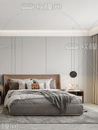 Modern Style Bedroom 529