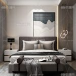 Modern Style Bedroom 523