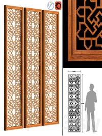 Decorative Wood Panel 01