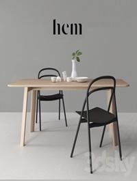 HEM set Udon Chair & Alle Table
