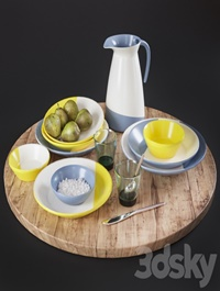 Kitchen Decorative set 09