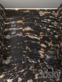 Magic black marble
