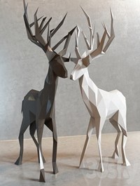 Deer decor