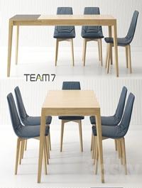 Dining group TEAM 7 Mylon Lui
