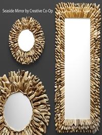 Seaside Mirror by Creative Co-Op
