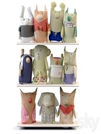 Textile toys & Zoo