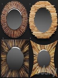 A set of mirrors tree