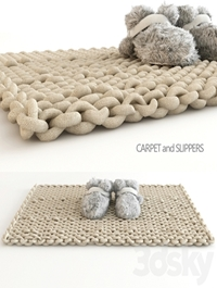 Carpet and slippers