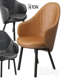 Ton Alba lounge armchair