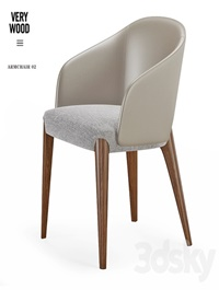 Armchair VeryWood Bellevue 01