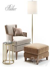 Baker California Lounge Chair