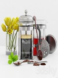 French Press Coffee &Tea Maker Kitchen supreme