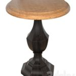 Hooker Furniture Sanctuary Wood Round Accent Table 5402-50001