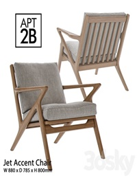 Apt2B Jet Accent Chair