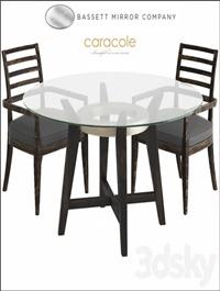 Bassett Mirror Thoroughly Modern Elston Dining Table