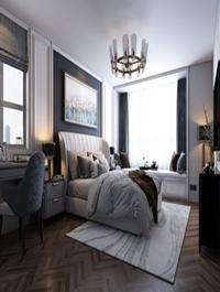 Bedroom Interior By Le Anh Tuan